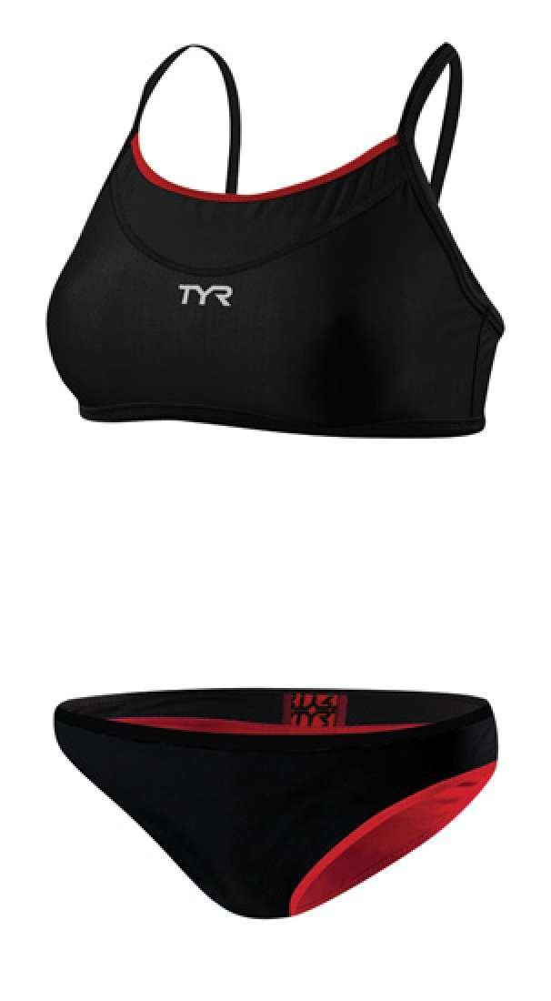 9b48bc3a9ab Get Quotations · TYR Women s Competitor Reversible Workout Bikini