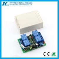 433MHz frequency ev1527 4relays wireless remote control switch DC12V customized 6V, 9V, 24V