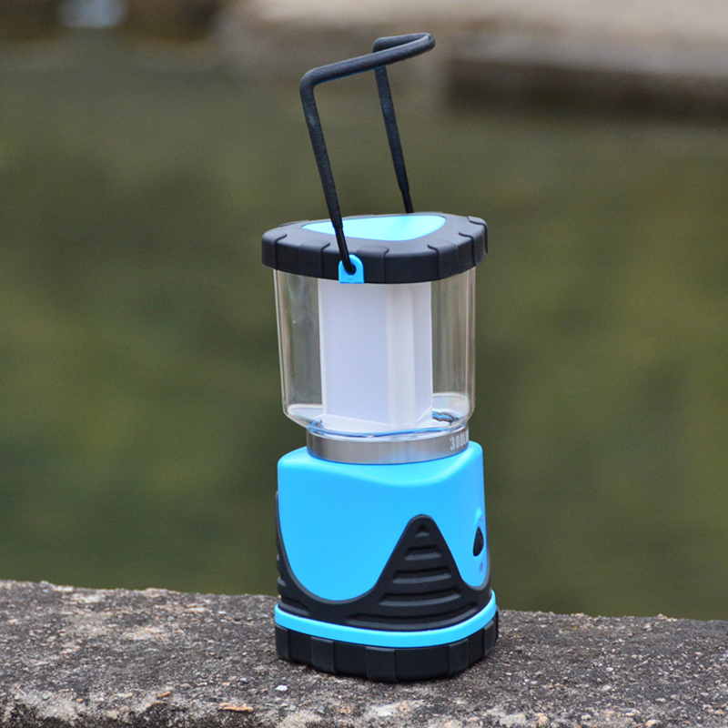 Newest Power Bank Hanging Built In 5400mAh Battery COB LED Rechargeable Camping Lantern