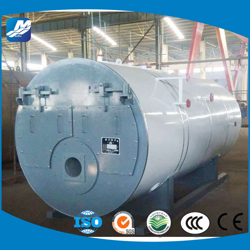 China WNS Gas diesel oil bunker boiler for sale