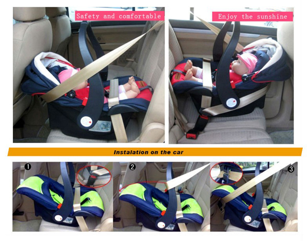 Ece R44/4 Approved Baby Car Seats China Supplier Infant Car Seat ...