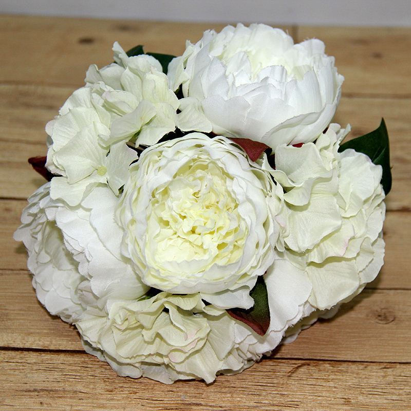 Top quality Bulk production Real Touch best sell artificial paper large peony flowers