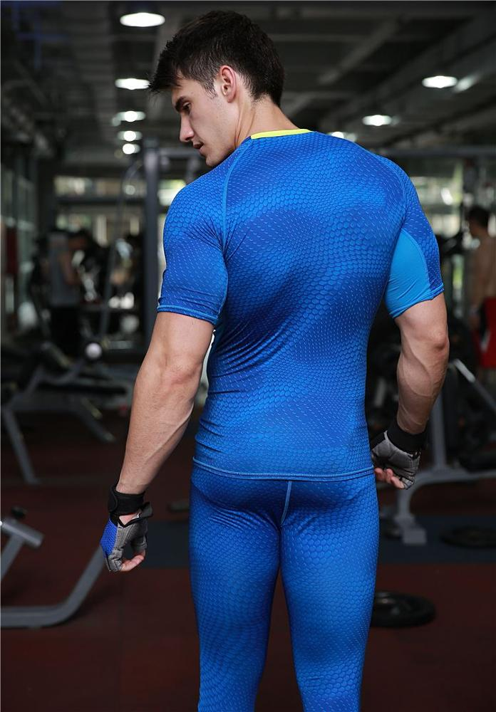 Men 's Basketball Running Pants Elastic Compression Quick - drying Pants Sports Tights Pants MA23