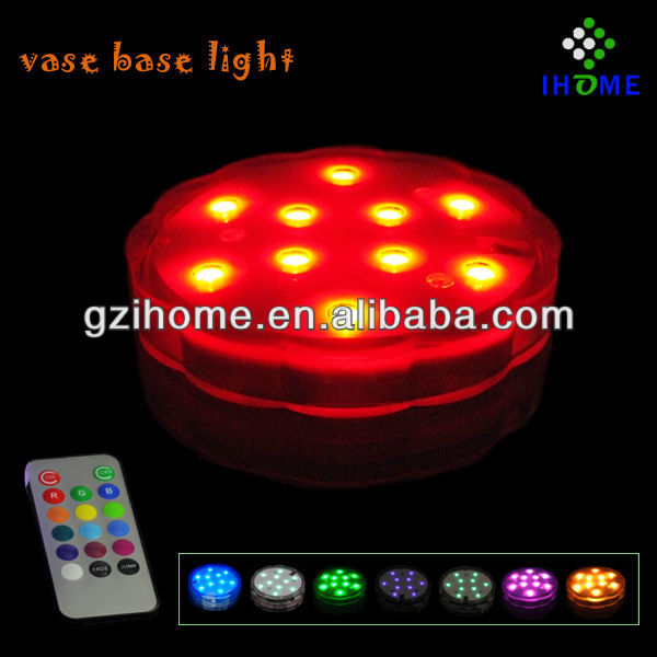 vase base light,vase led light base