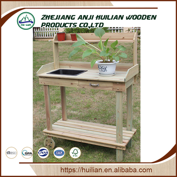 Hl416t Wood Garden Planting Work Table China Flower Pots Planters - Buy Pot  Planter,Garden Table,Wooden Garden Table Product on Alibaba.com