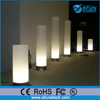 led party decorative mood floor light for night club,led plastic floor lamp