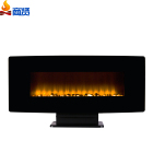 Led tv stand electric fireplace wall mounted