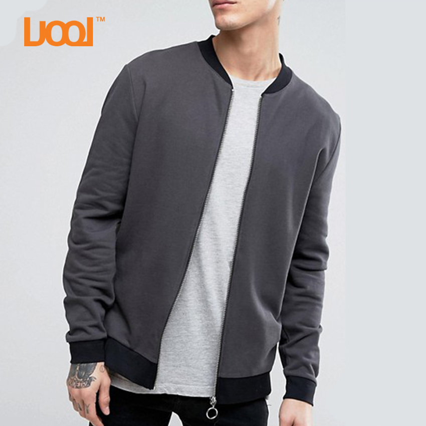 Guangzhou Cheap High Quality Black Collar Zipper Leather Jackets For Men