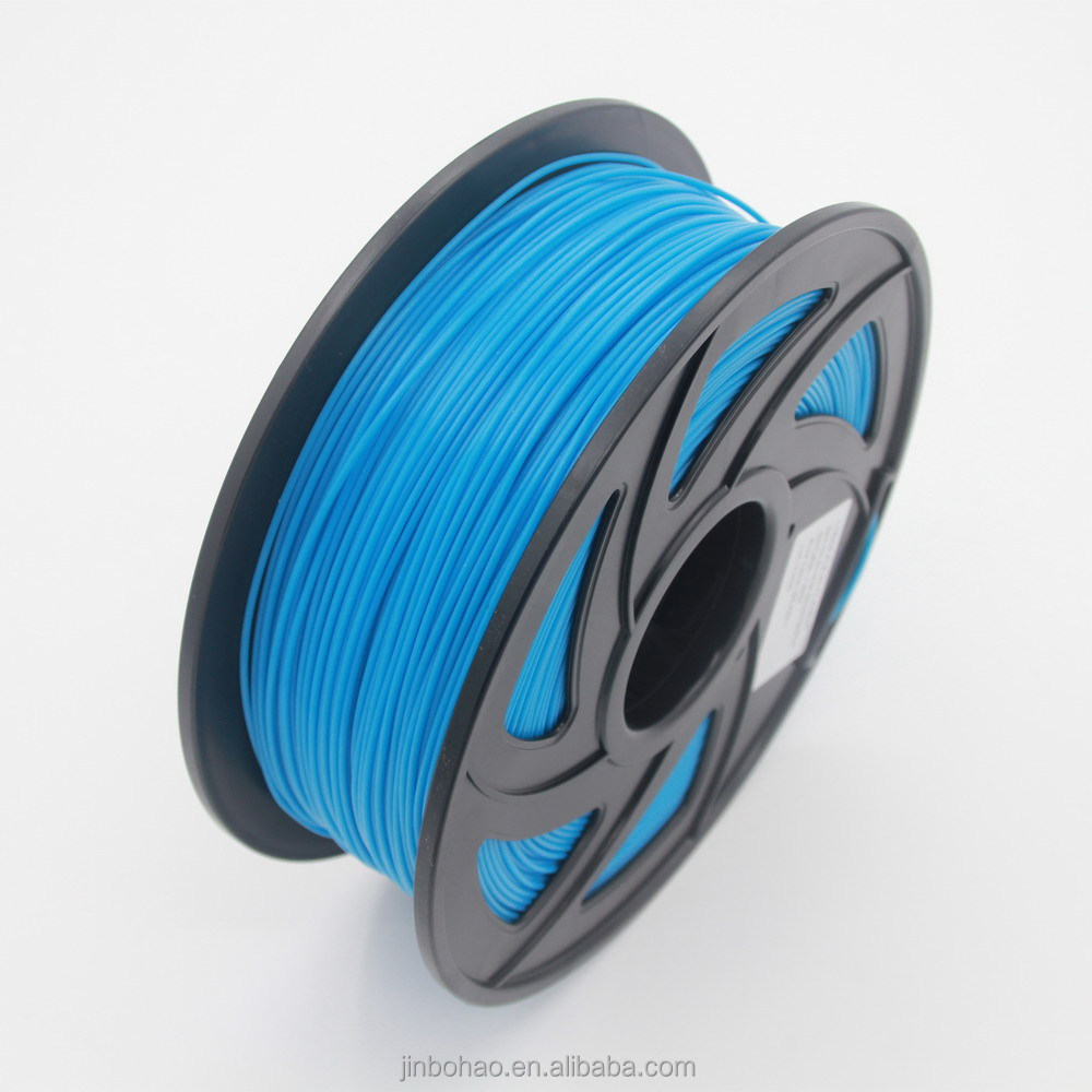 2016 high quality 1kg/roll 1.75mm/3mm pla 3d printer filament and 3d pla plastic rolls for 3d printing machine