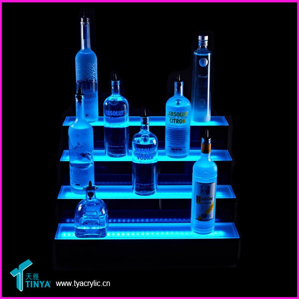 Flat Pack 5-tier 30ml Liquor Bottles Display Counter Cigarette ...