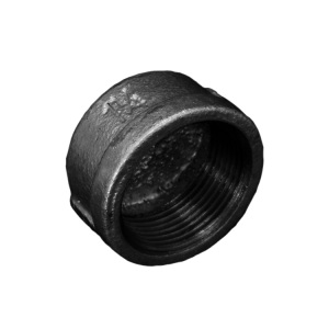 galvanized 301 cap malleable cast iron pipe fitting