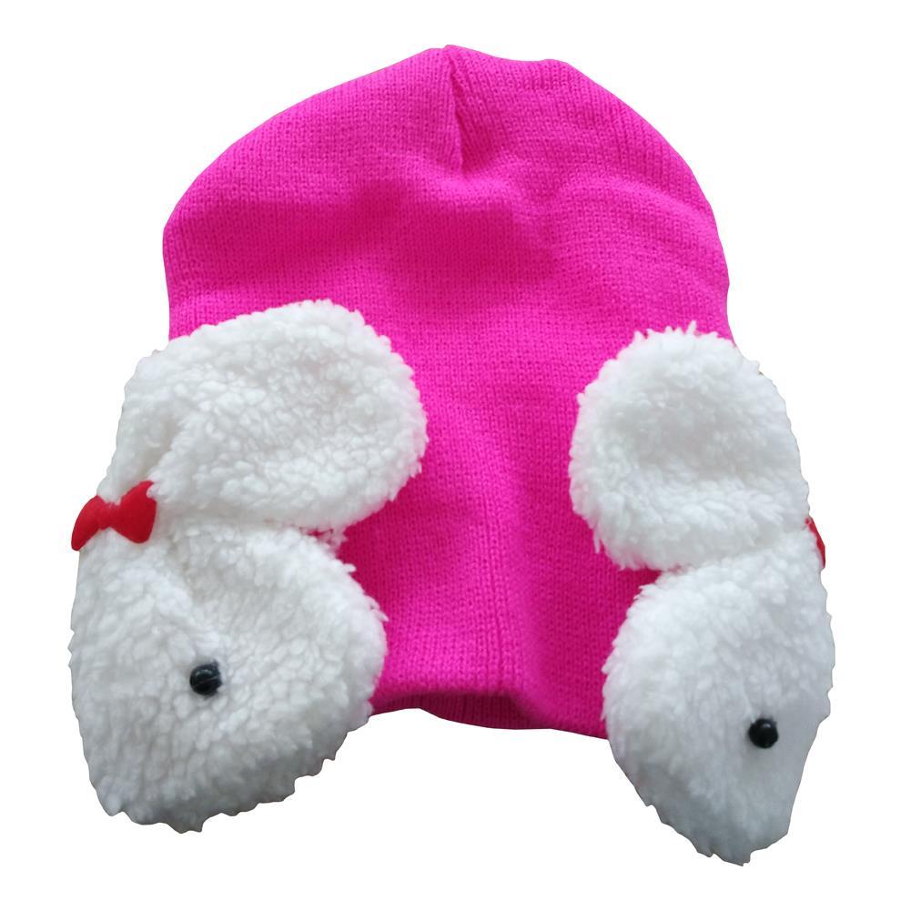 NEW Baby Toddler Kids Boys Girl Winter Ear Flap Warm Hat Beanie Cap Crochet Rabbit