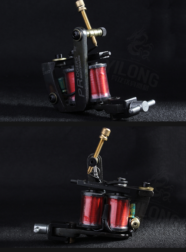 Yilong triple complete tattoo machine suppliers for tattoo machine-16
