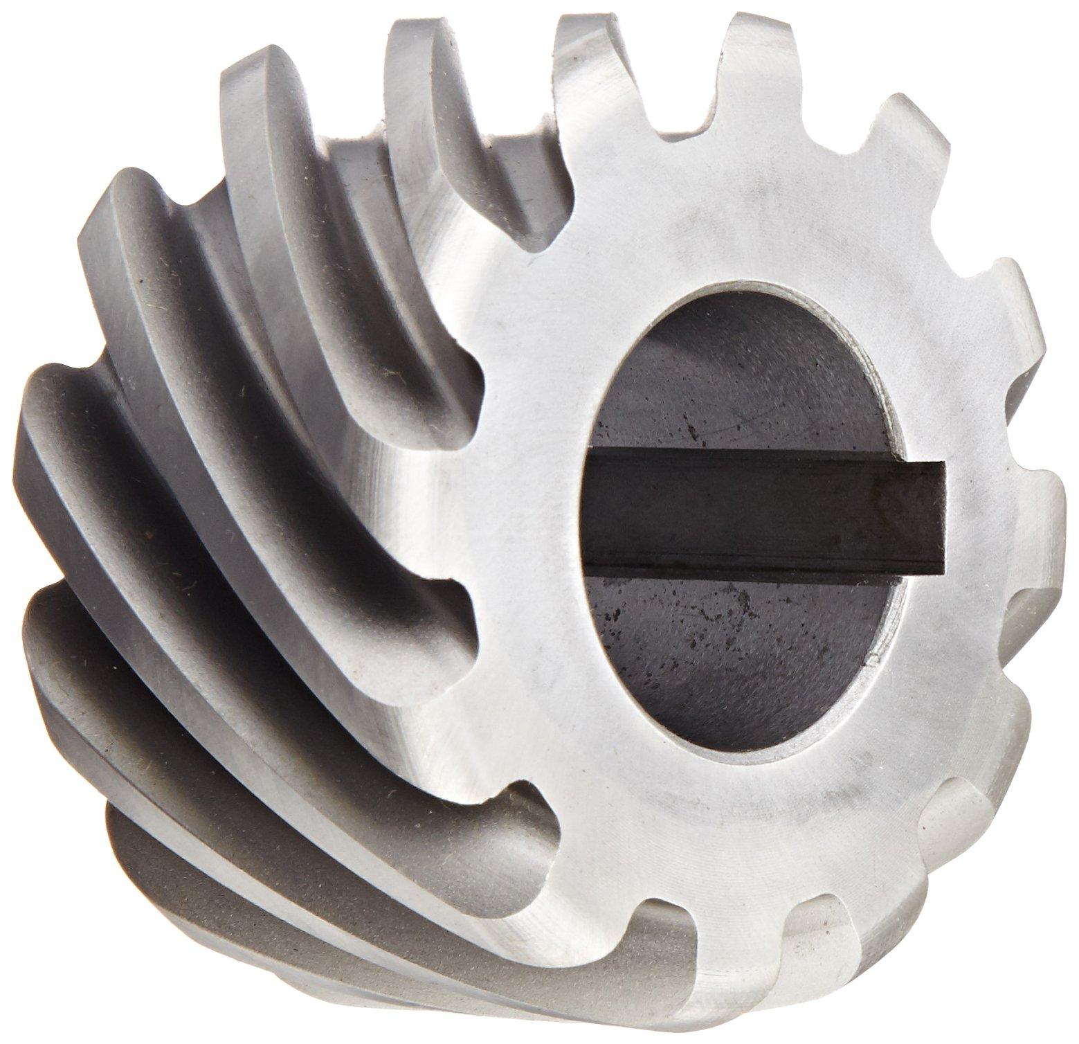 Boston Gear H1012L Plain Helical Gear 45 Degree Helix LH 14.5 Degree Pressure Angle 0.625 Bore 10 Pitch 12 Teeth Steel