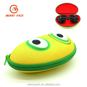 Custom cute design Eva sunglass case,zipper sunglass case,EVA eyewear case