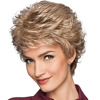The best-selling Pale golden short loose wave synthetic wigs For the majority of women in Europe