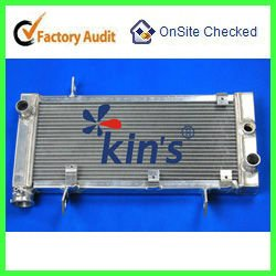 All aluminum Motorcycles radiator,motorcycle racing radiators