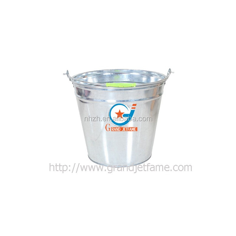 Glavanized metal pails water paint metal pails