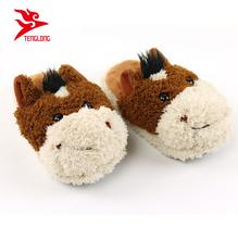 Plush Horse Slippers e266d734266c