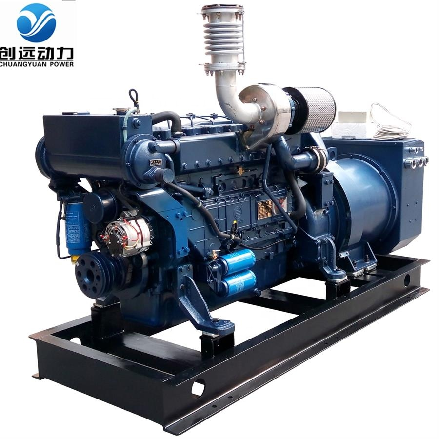 3 Phase WeiChai Marine <strong>Diesel</strong> generating set kva 150kw 1500rpm manufacturer price