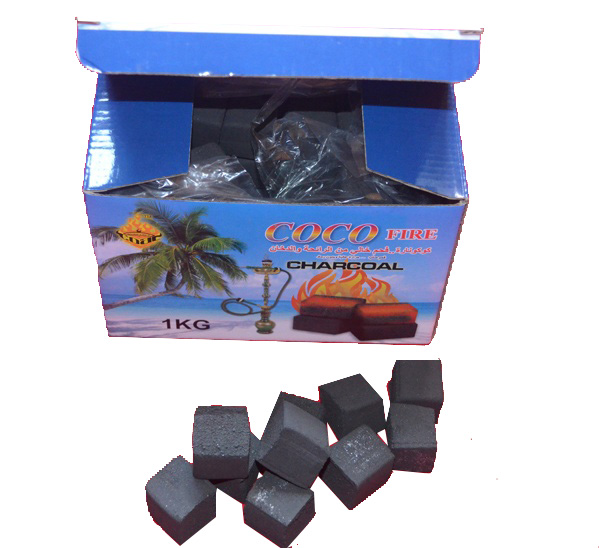 HongQiang Coconut Shell Cube Charcoal for Hookah/Incense