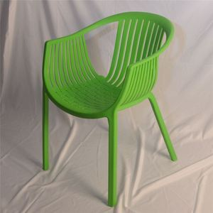 Ergonomic Cheap Plastic Wicker Modern Side Cafe Leisure Dining Chair