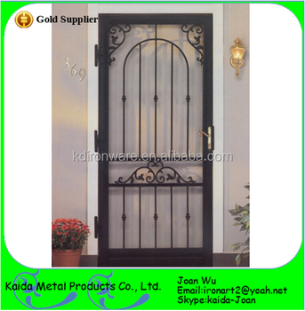 Decorative Wrought Iron Grill Doors Design Buy Iron