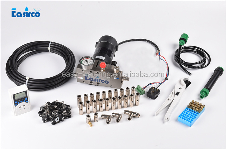 High Pressure Misting System Mist Nozzles / Mist Cooling Kits / 1 2l/min  Piston Pump - Buy Mist Cooling,Mist Nozzles,High Pressure Misting System