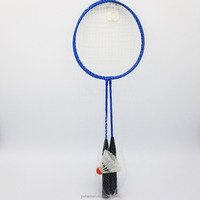 HS-cheap promotion with one badminton badminton racket set