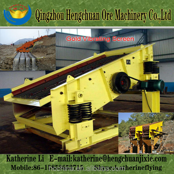 Linear Vibrating Screen/Vibrating Sieve from China
