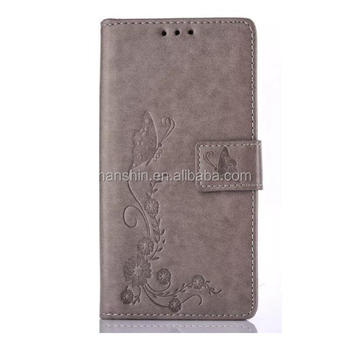 HOT! Wholesale Butterflies in Love with Flowers Wallet Flip Leather Case for iPhone 6,6plus