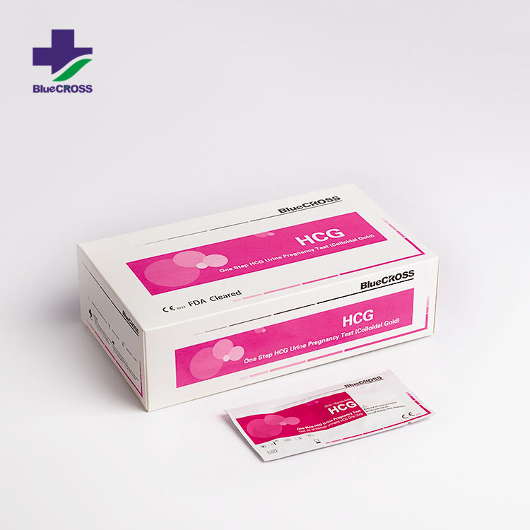 Medical Rapid Diagnostic Private Label First Response Colloidal Gold Home HCG Pregnancy Test Cassette / Card