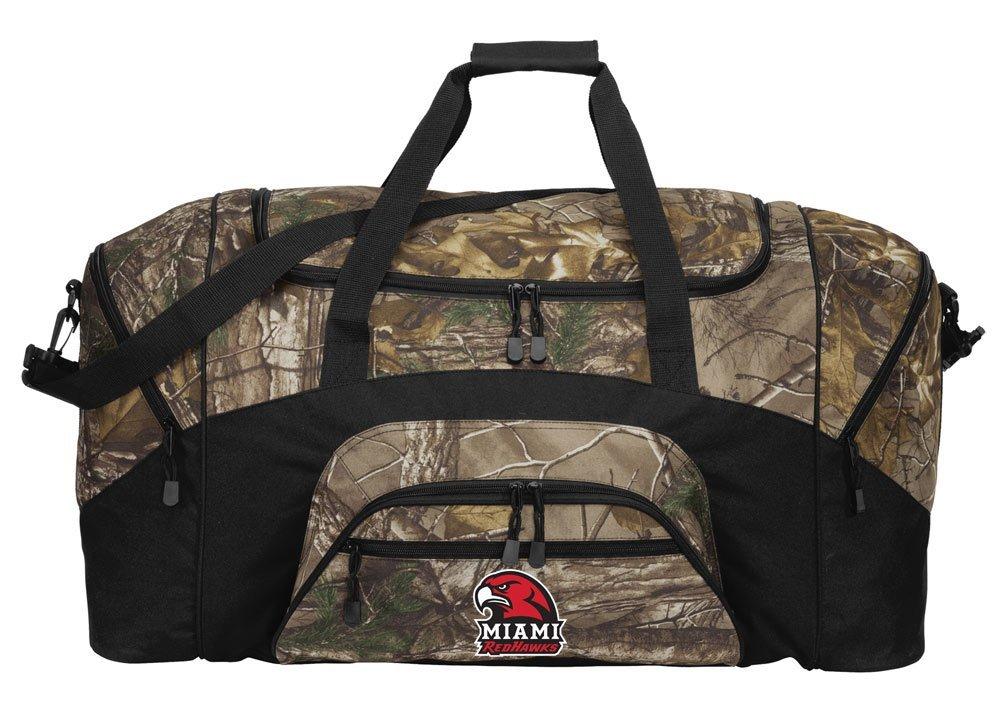 RealTree Camo Miami University Duffel Bag Or Camo Miami RedHawks Gym Bag
