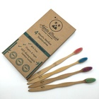 Bamboo Toothbrush Eco Friendly Wholesale Bamboo Bristle Toothbrush