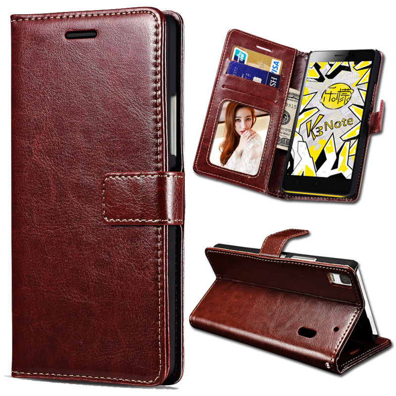 sports shoes f48e4 36314 Flip Leather Cover Case For Lenovo K3 Note K50-t5 PU Wallet Bag Stand Retro  Phone Cases With Card Holder Vintage Business Capa