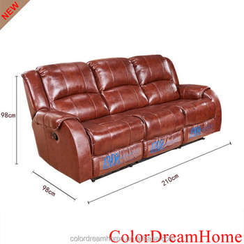 Colordreamhome Brand Luxury Vip Home Theater Sofa Reclining Cinema Leather