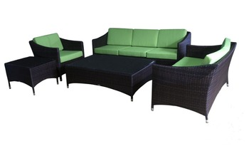 cube shaped high end dubai hotel patio leisure sofa rattan surplus garden furniture outdoor s0079 - Garden Furniture Dubai