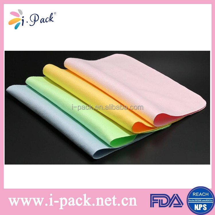 Custom printl full printing cleaning cloth for glasses/ jewelry/ watch/ phone with high quality