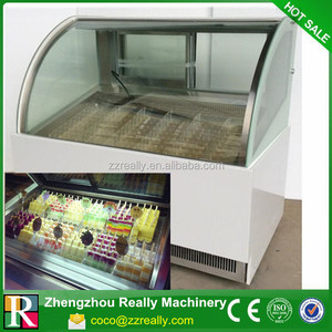 Top quality and cheaper price supermarket fresh meat display commercial refrigerator