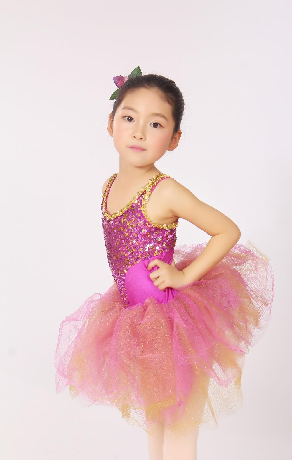 Octj000128 Niñas Ballet Trajes De Baile Latino Concurso De Disfraces ...
