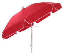 Luxury parasol outdoor/garden red beach umbrella china manufacturer umbrella