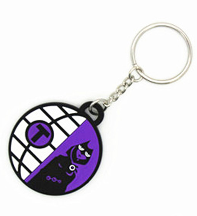 China manufacturer keyring wholesale souvenir keychain with metal chain
