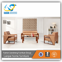 China manufacturer high quality front office heated two seat sofa GAS856