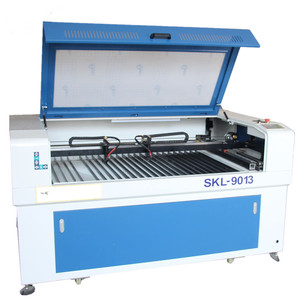 Double head 9013 80w co2 laser engraving and cutting machine