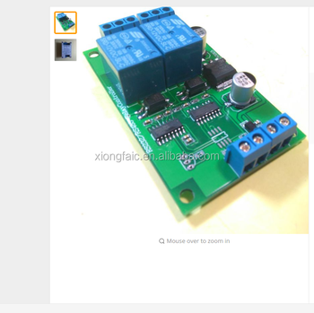 2 Way Rs232 485 Serial Port Relay Control Board (ds18b20 Temperature)  Computer Control Relay Module - Buy 2 Way Rs232 485 Serial Port Relay,New  And
