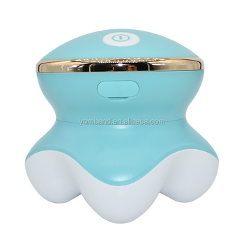 2018 Popular Battery Operated Mini Personal Electric Vibration Body Head Neck Shoulder Massager