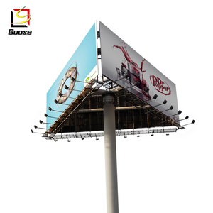 Outdoor Advertising Solar Power Digital Billboard