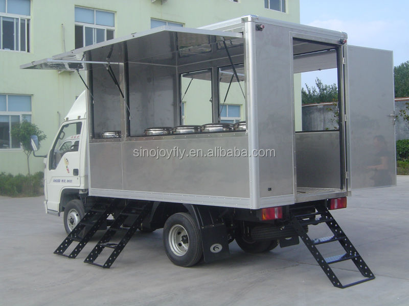 Mobile Kitchen Food Truck For Sale