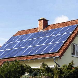 10KW Solar energy system for home use 10000watt provide 50KWh electricity per day