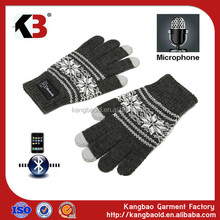 2017 Newest Bluetooth talking glove hello gloves
